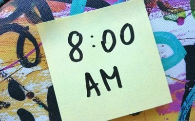 What are you doing between 8.01am and 8.55pm?